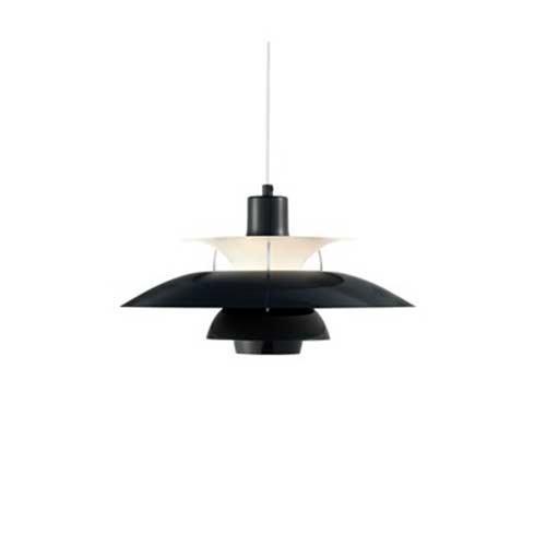Louis Poulsen - PH 50 Hängeleuchte - olivenschwarz - Poul Henningsen - Design - Deckenleuchte - Pendelleuchte - Wohnzimmerleuchte