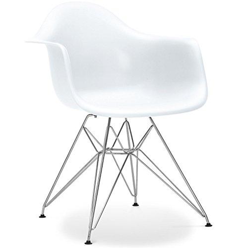 Stuhl 'dar Stil–Weiß