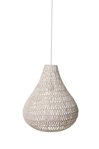Zuiver 5002803 Pendant Lamp Cable Drop Textur, weiß
