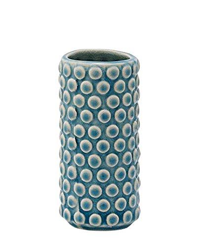 Bloomingville Vase Bubble Structure sky blue