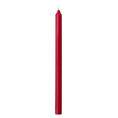 Candle,stor,red h20cm