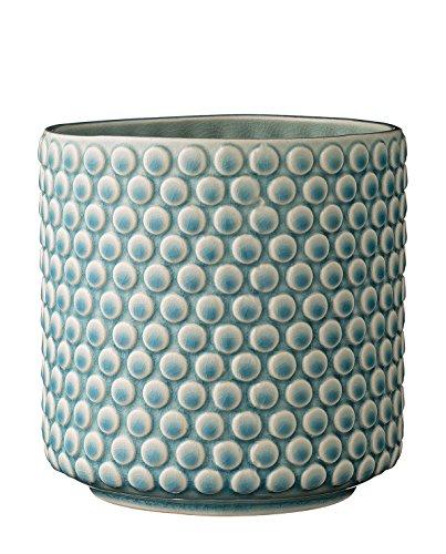 Flowerpot, Blue, Stoneware Ø15,5xH15,5 cm