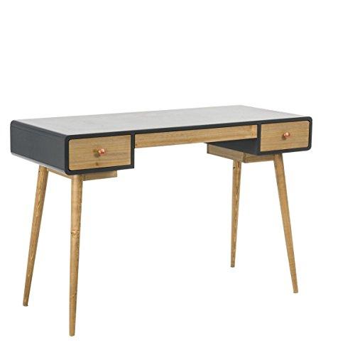 Schreibtisch Toronto - Konsolentisch mit 3 Schubladen - Holz - Natur Grau - ca. B120 x T50 x H76 cm