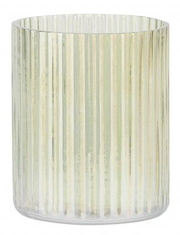 Teelichtglas, grün
