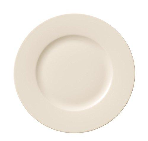 Villeroy & Boch 1041532640 For Me Frühstücksteller (Premium Porzellan, Artikeldurchmesser ca. 215 mm) weiß