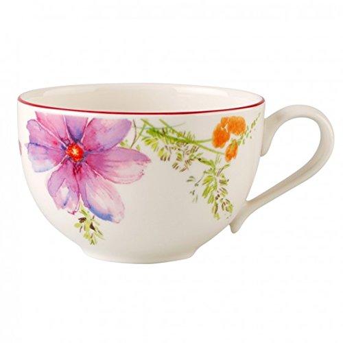 Villeroy & Boch 10-4100-1300 Mariefleur Basic Kaffeetasse, 0,25 l, Premium Porzellan
