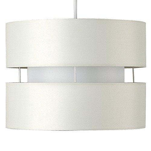Moderner und schöner Lampeschirm mit 2 Schichten und einem tollen Finish – für Hänge- und Pendelleuchte