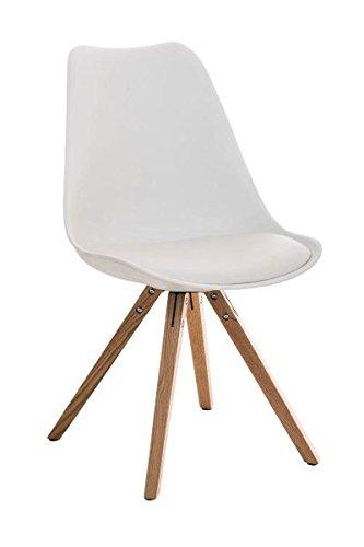 Esszimmerstuhl, Küchenstuhl, Lehnenstuhl, Sitzgelegenheiten, Besucherstuhl, Stuhl, Wartezimmerstuhl, Wohnzimmerstuhl Materialmix natura weiß #PeglegS