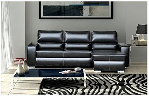 mb-moebel Kleines Ecksofa mit Schlaffunktion Eckcouch mit Bettkasten Sofa Couch Wohnlandschaft L-Form Polsterecke RONI