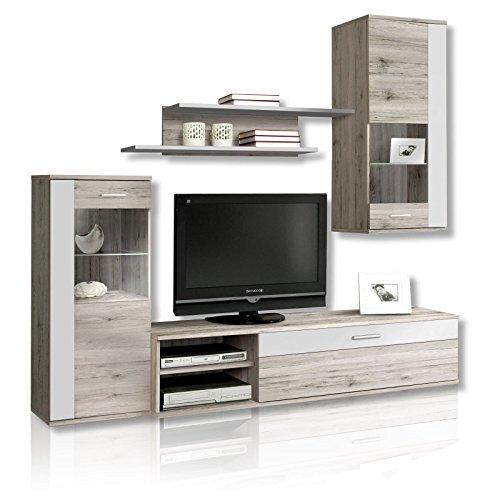 NEWFACE Moderne Wohnwand