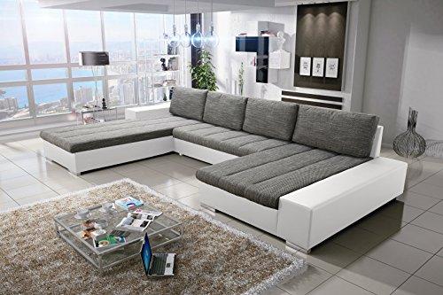 Sofa Couchgarnitur Couch Sofagarnitur Verona 4 U Polstergarnitur Polsterecke Wohnlandschaft mit Schlaffunktion